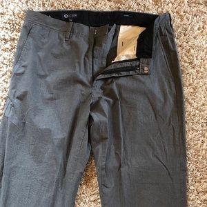 Men's J-Crew 32X30 Gray dress slacks.